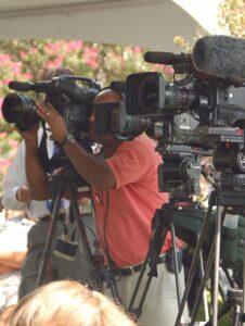 Media Relations Cameras