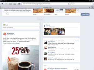 Burger King Facebook