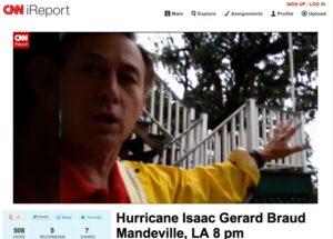 Hurricane Isaac Gerard Braud CNN