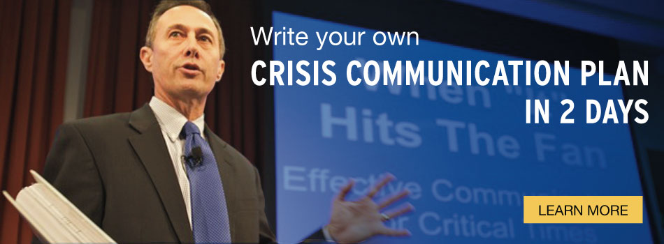 crisis communications plan