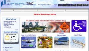 LAX website