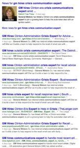 GM Crisis Expert