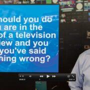 Media interview mistake - Gerard Braud