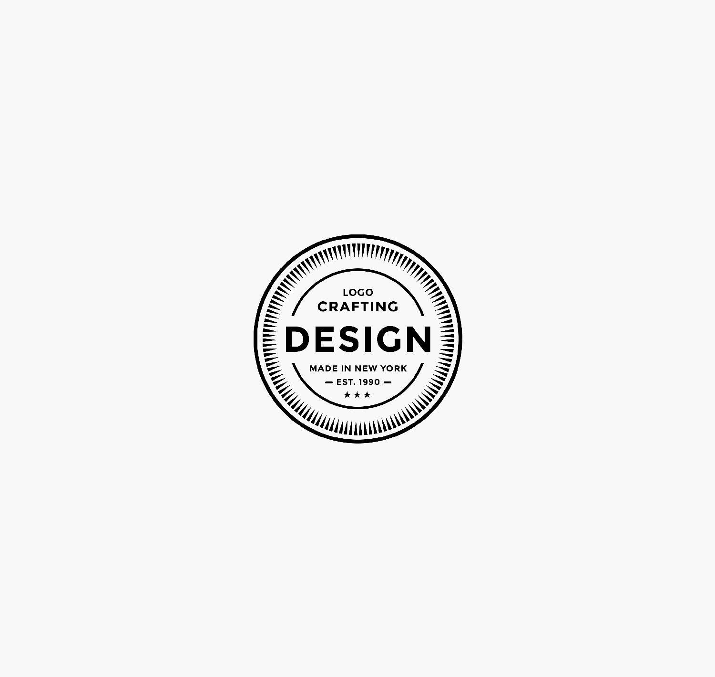 logo crafting design