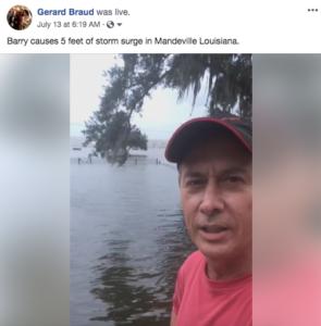 Gerard Braud Storm Coverage
