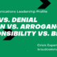 Crisis Communications Leadership Profile