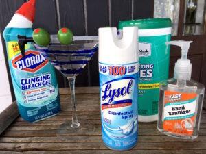 Lysol hand sanitizer clorox